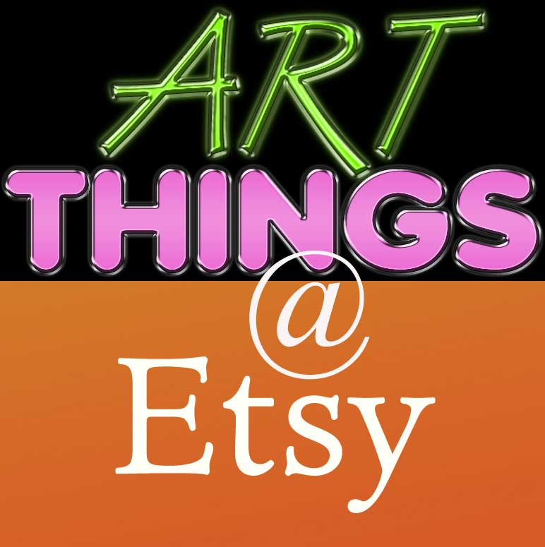 art things etsy button